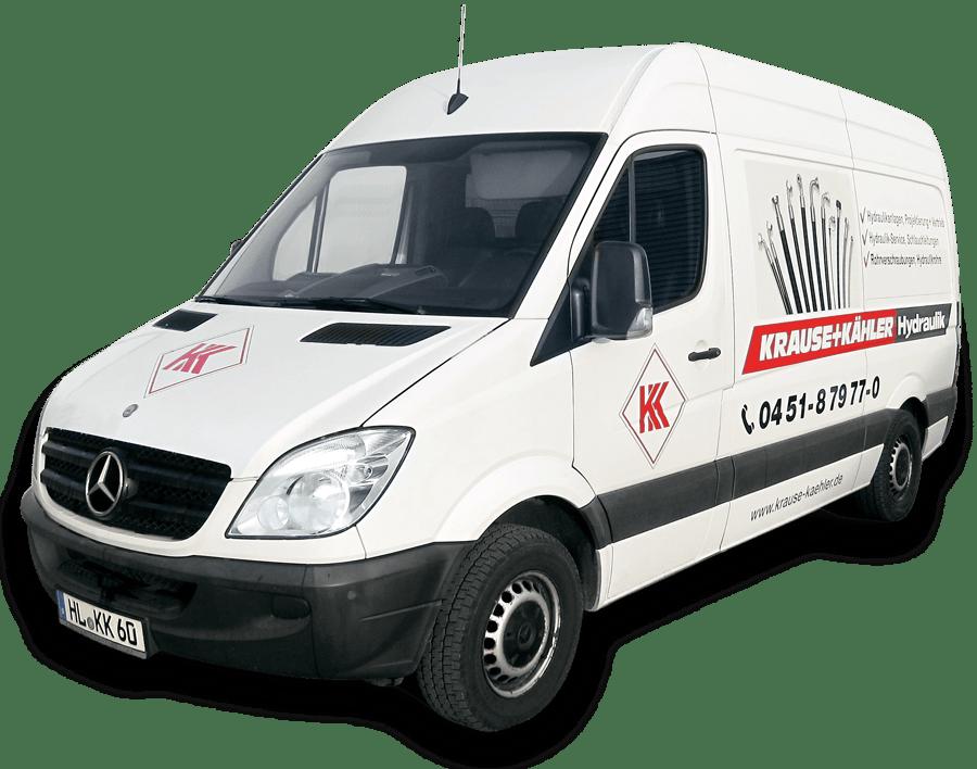 Mobiler Hydraulik-Service in Lübeck