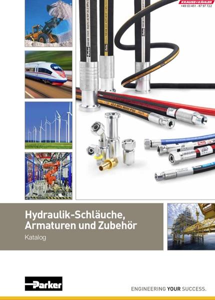 PDF Katalog Parker Hannifin - Hydraulik-Schläuche, Armaturen und Zubehör