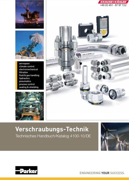 PDF Katalog Parker Hannifin - Verschraubungs-Technik - 4100-10